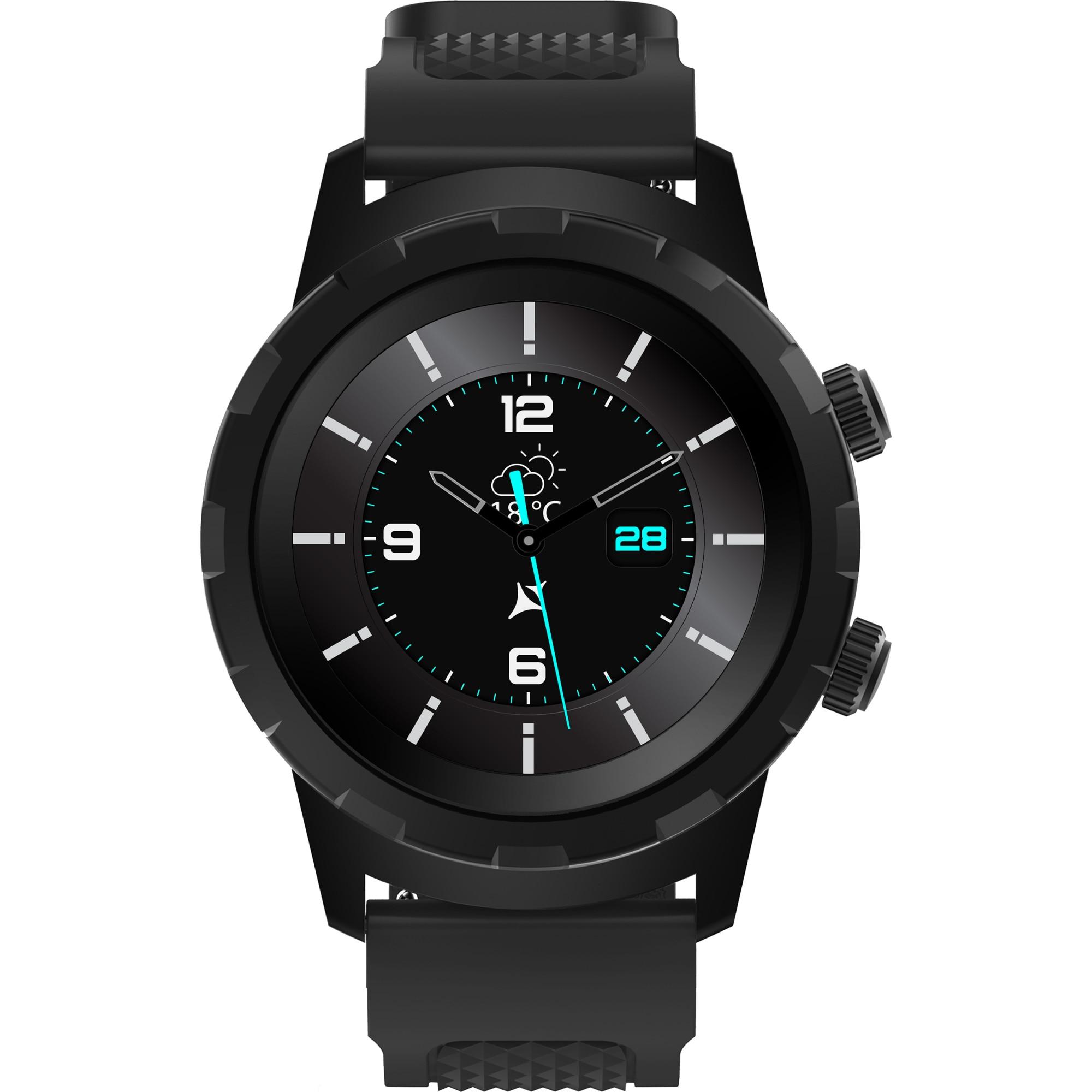 Fotografie Ceas smartwatch Allview Hybrid T, Black