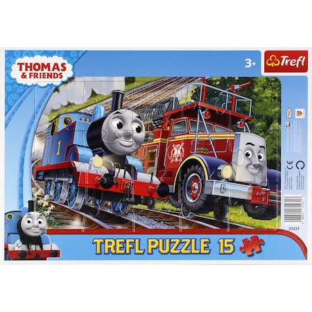 Puzzle Trefl Thomas and Friends, 15 piese