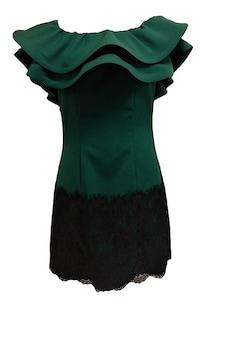 Női alkalmi ruha sötétzöld ,méret: L EU