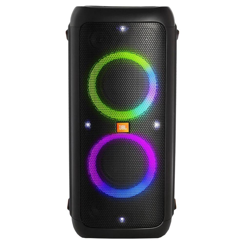 Fotografie Sistem audio JBL Party Box 300, JBL Signature Sound, Bass Boost, Bluetooth, USB, True Wireless Stereo, Light shows, Powerbank 10.000mAh, Karaoke