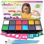 Set profesional pictura fata si corp copii Anastasia Colors