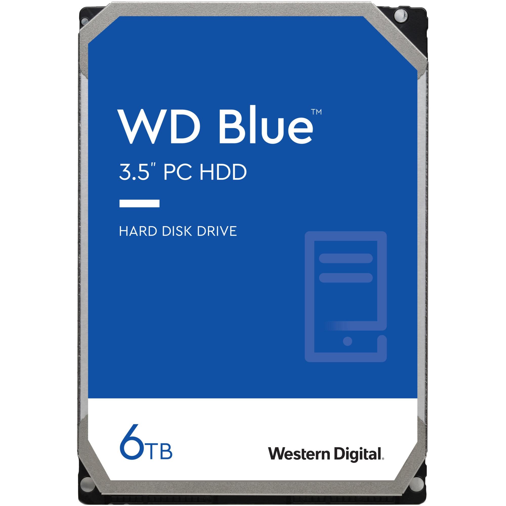 Fotografie HDD WD Blue 6TB, 5400rpm, 64MB cache, SATA III