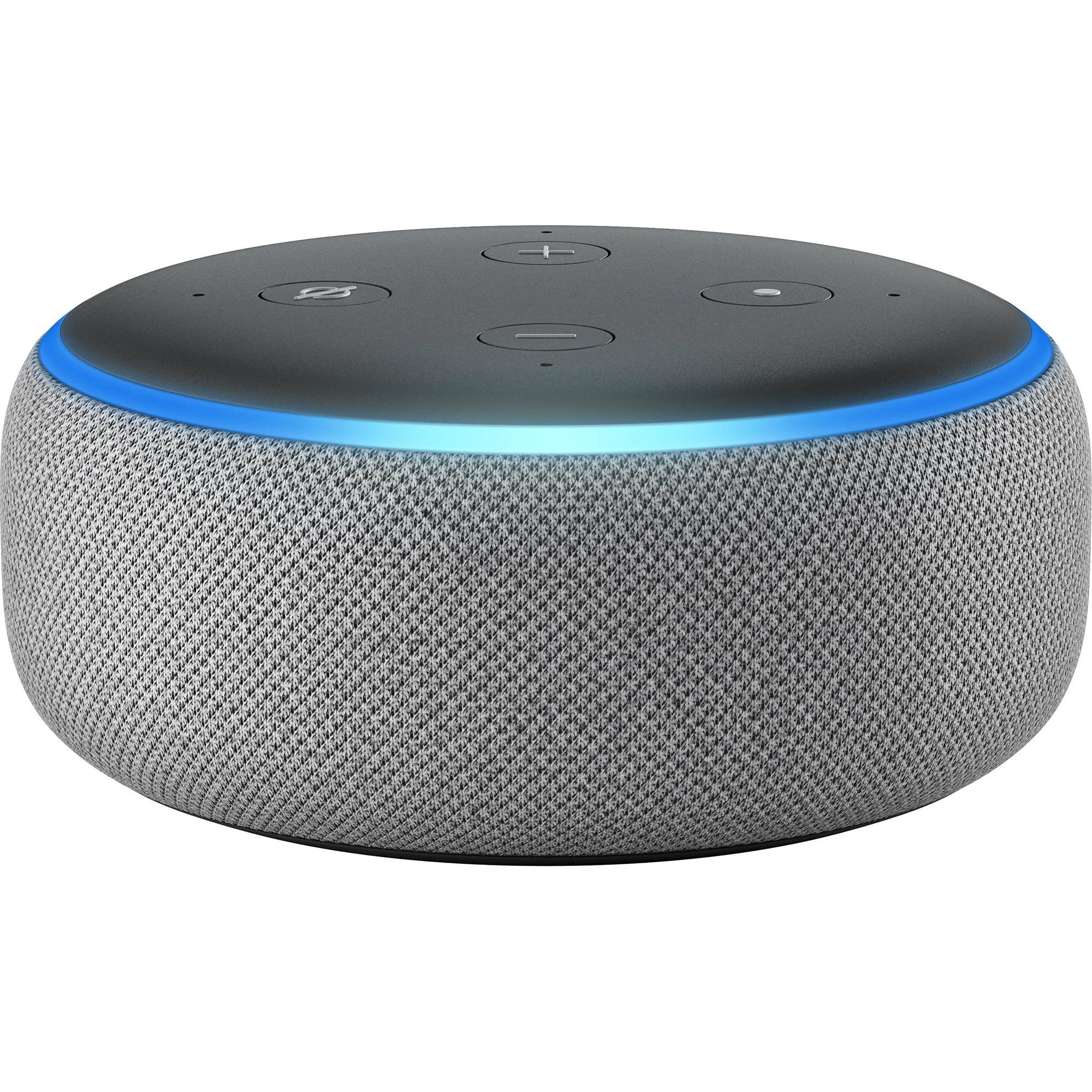 Fotografie Boxa Amazon Echo Dot 3, Alexa, Gri