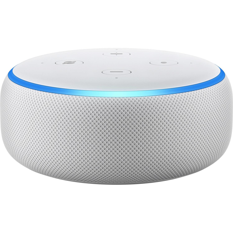 Fotografie Boxa Amazon Echo Dot 3, Alexa, Argintiu