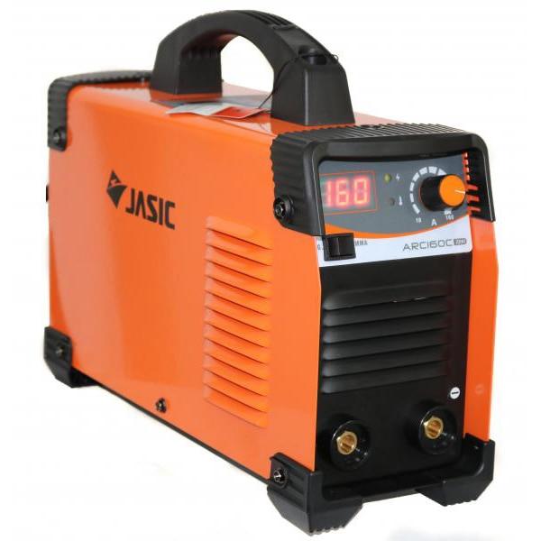 Fotografie Invertor de sudura profesional Jasic ARC 160 CEL, 230 V, 160 A, electrod 1.6-4 mm, accesorii sudura MMA