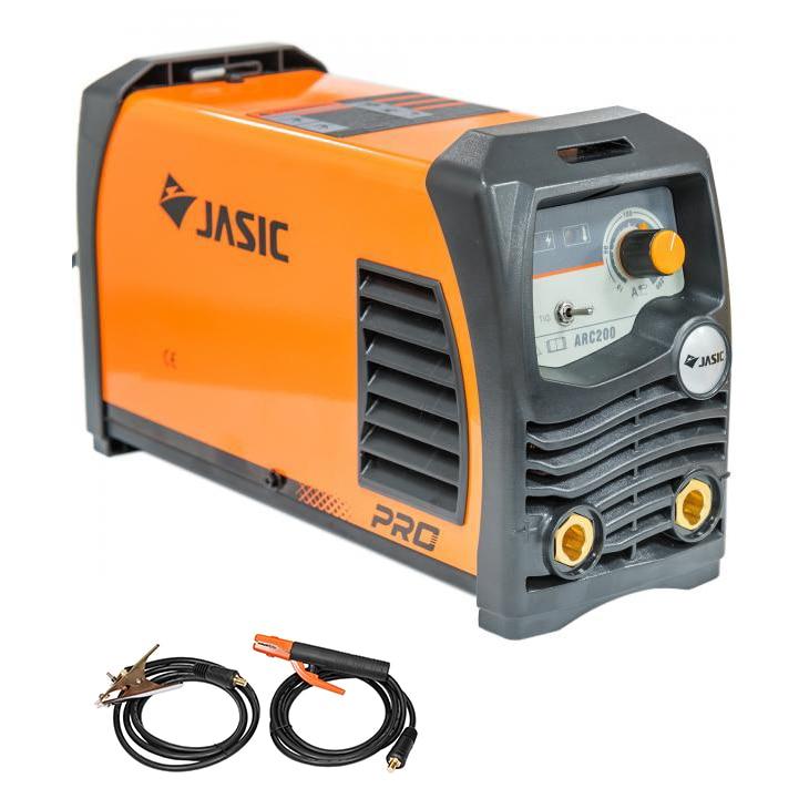 Fotografie Invertor de sudura profesional Jasic ARC 200 PRO, 230 V, 200 A, electrod 1.6-4 mm, accesorii sudura MMA