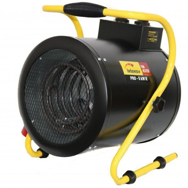 Fotografie Aeroterma electrica Intensiv PRO 5 kW R, 5000 W, 380 V, 388 m3/h