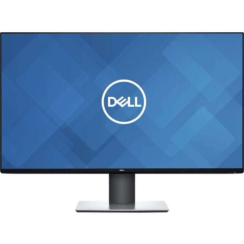 "Fotografie Monitor LED IPS Dell 31.5"", 4K UHD, Display Port, Negru/Argintiu, U3219Q"