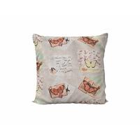 "Калъфка за декоративна възглавница Текстил Антило ""Пеперуди"", 45x45 см."