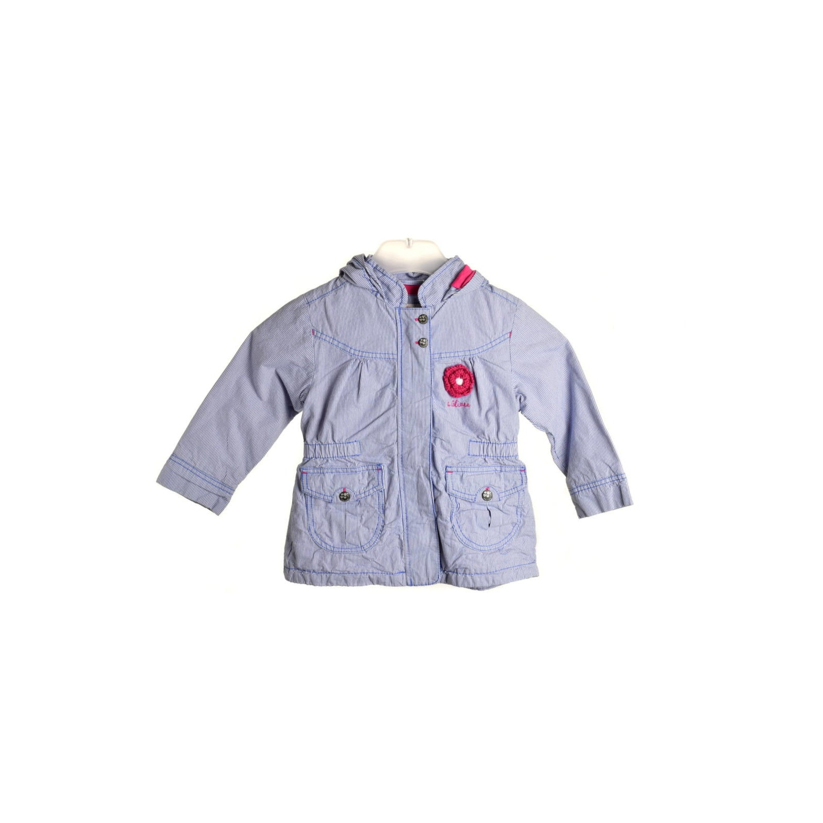 Newness sötétpiros, műszőrmés lány kabát – 92 eMAG.hu