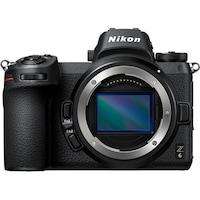 Фотоапарат Mirrorless Nikon Z6, Full-Frame, 24.5 MP, 4K, Wi-Fi, Body, Черен + Адаптер FTZ