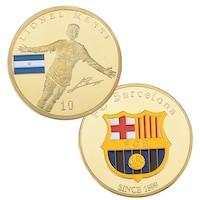 Сувенирна Martbg Монета Меси/Барселона, колекционерска
