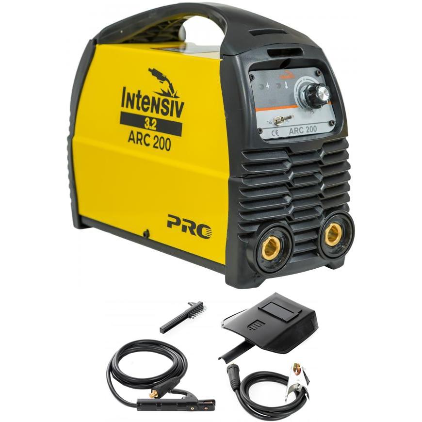 Fotografie Invertor de sudura Intensiv ARC 200, 230 V, 200 A, electrod 1.6-4 mm, accesorii sudura MMA