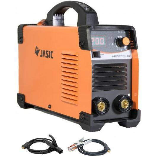 Fotografie Invertor de sudura profesional Jasic ARC 200 CEL, 230 V, 200 A, electrod 1.6-4 mm, accesorii sudura MMA