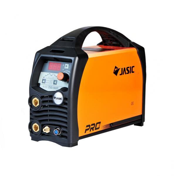 Fotografie Invertor de sudura profesional Jasic TIG/MMA 180 PULSE, 230 V, 180 A, electrod 1.6-3.2 mm, accesorii sudura TIG