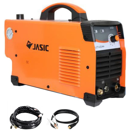 Fotografie Aparat de taiere cu plasma Jasic CUT 40, 230 V, 40 A, capacitate taiere 12 mm, aprindere cu inalta frecventa, monofazat