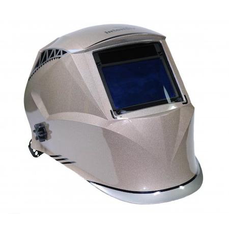Masca de sudura Intensiv CRONOS 9-13, 4 senzori, 100x65 mm, display cristale lichide, clasa optica 1/1/1/1