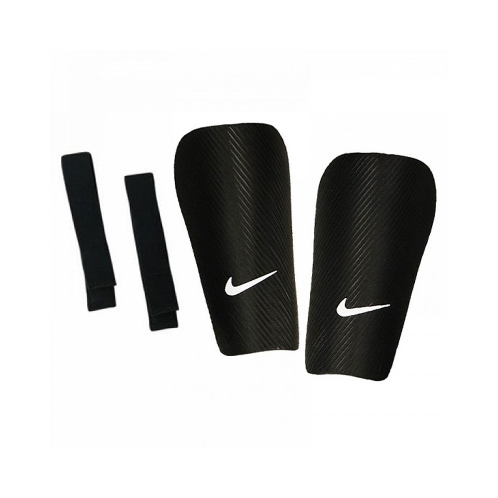 Fotografie Aparatori fotbal Nike SP2162, Black/White, Negru/Alb, S