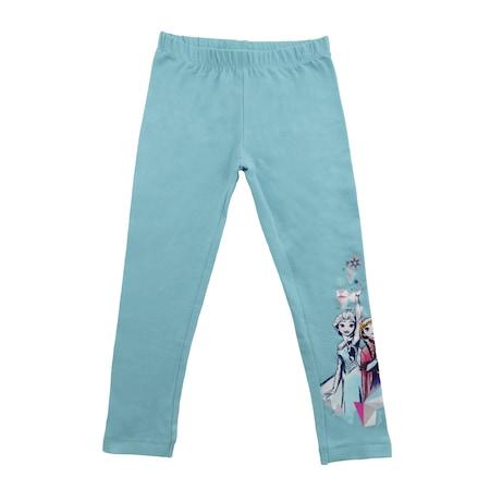 Pantaloni Frozen Disney, Albastru deschis, pentru fetite, 104/110