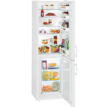 Combina frigorifica Liebherr Confort CU 3311, 294 l, Clasa A++, Smart Frost, Iluminare LED, H 181 cm, Alb