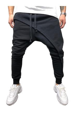 Pantaloni barbati, negru, aty 01, Negru