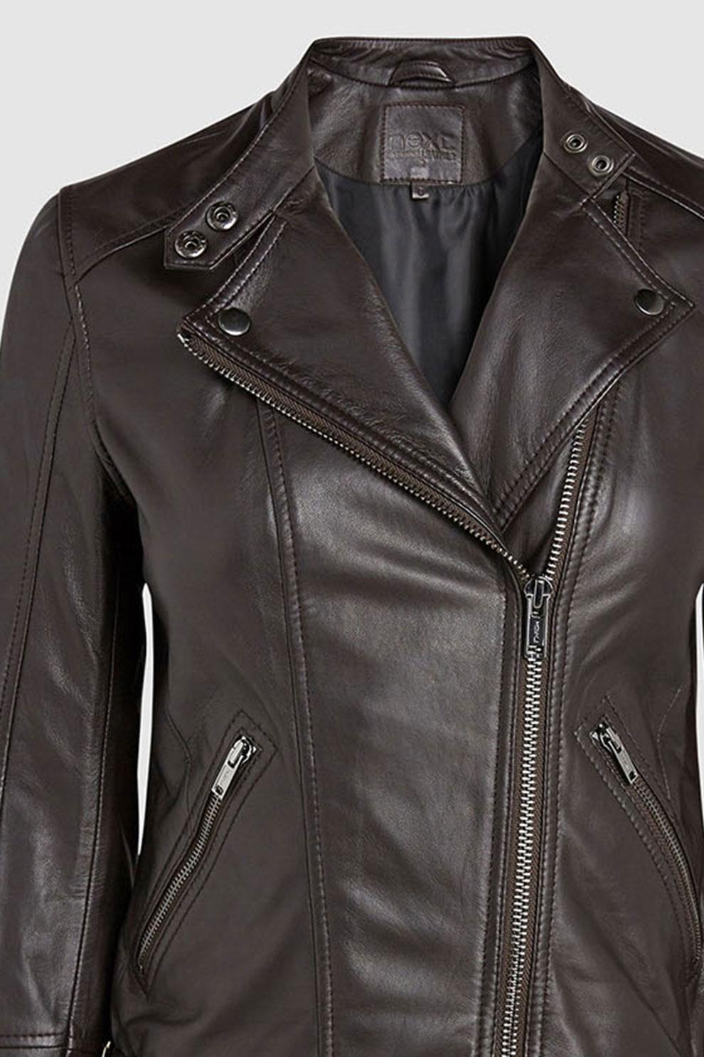 NEXT, Műbőr motoros dzseki, Drapp, 10 eMAG.hu