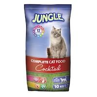 Суха храна за котки Джангъл Коктейл 10 кг.