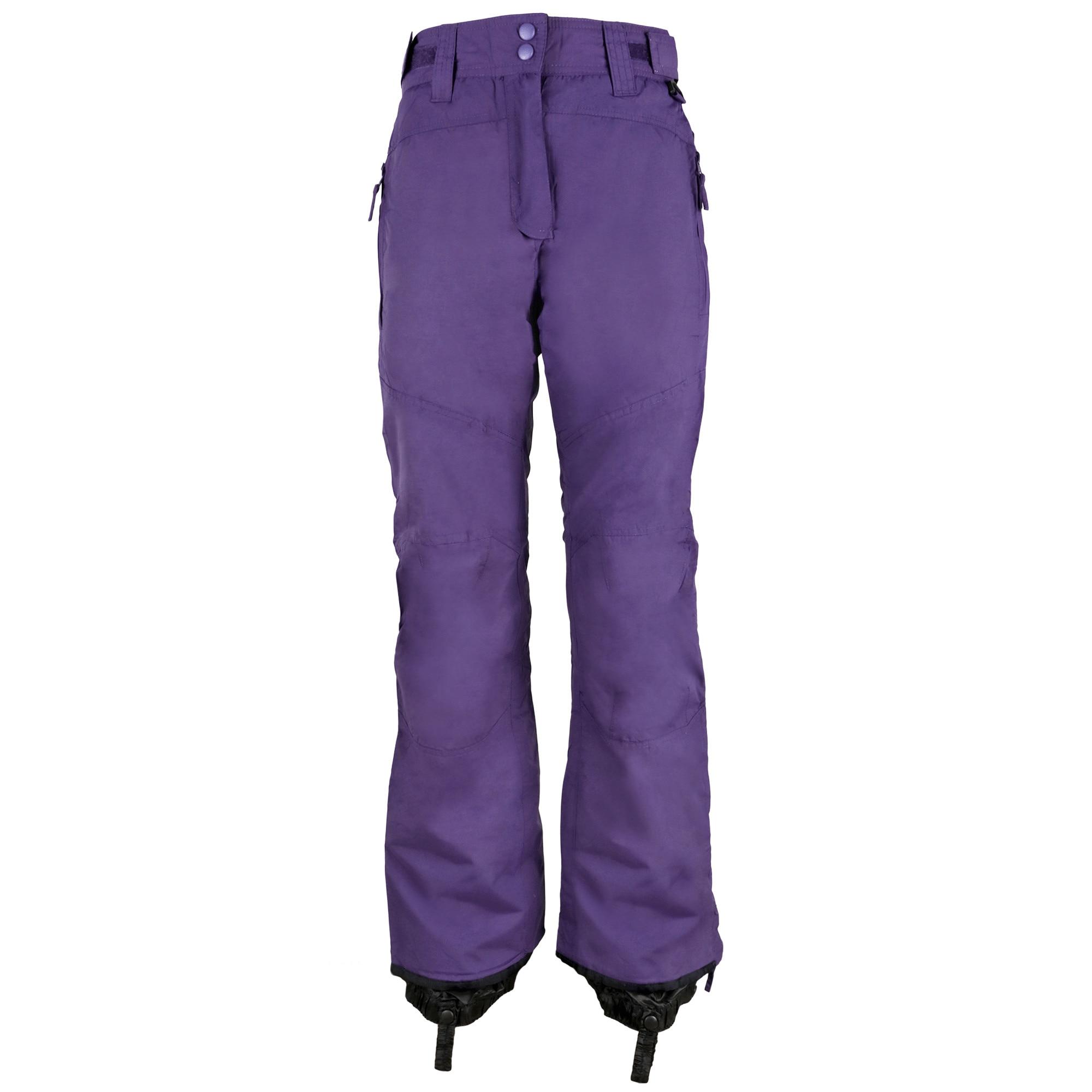 marimea 7 oferta specifica cel mai bun site web Pantaloni ski dama Crivit Sports, impermeabili, rezistenti la vant  puternic, Violet, 40 EU - eMAG.ro