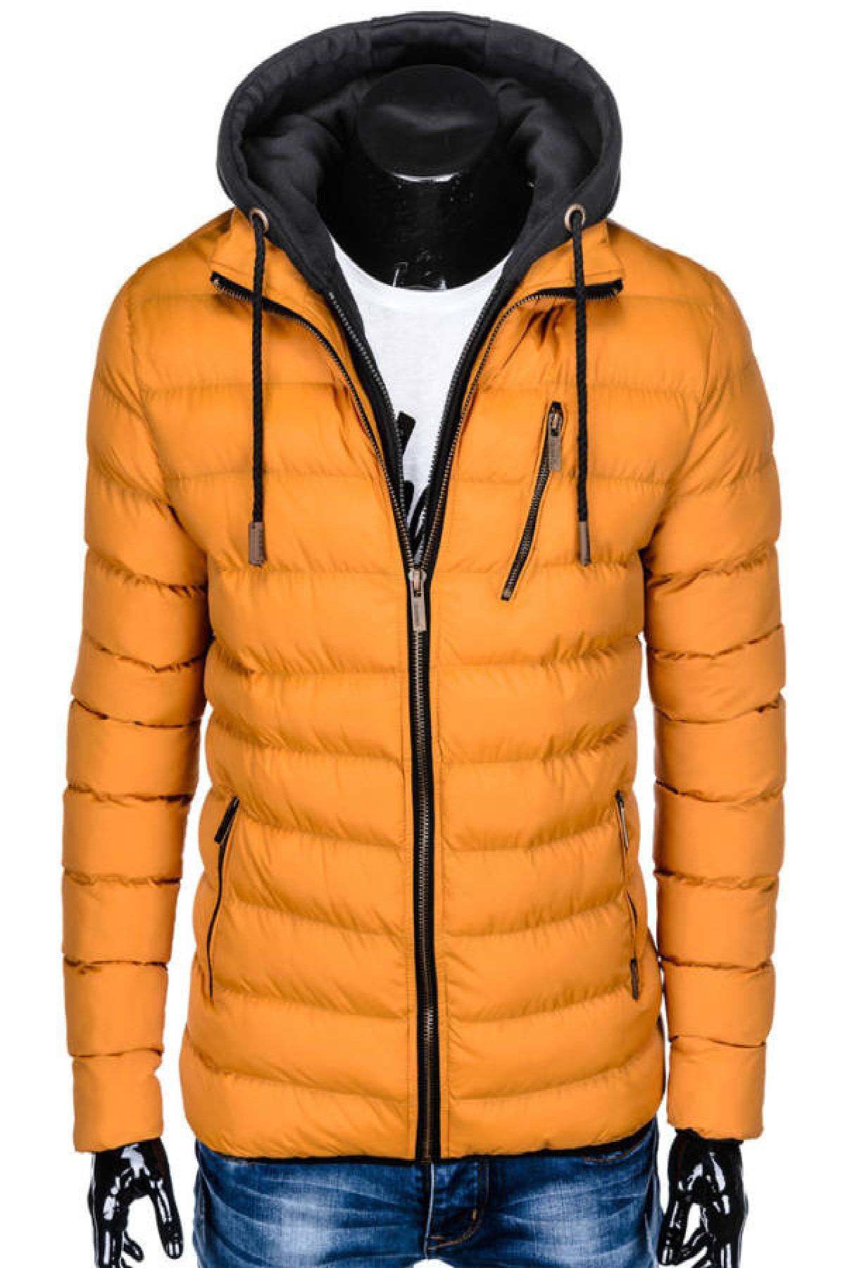 Férfi kabátok, dzsekik és mellények Anyag Egyéb eMAG.hu