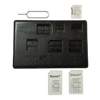 Комплект адаптори Royal Nano/Micro Sim CARD 0517 за мобилни устройства с нано и микро сим и инструмент за вадене на сим картата