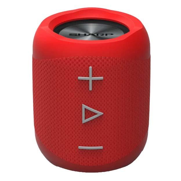 Fotografie Boxa portabila Sharp GX-BT180, Rezistenta la stropire, 14W, Wireless Bluetooth, Hands Free, Autonomie 10H, rosu
