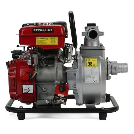 "Motopompa Steinhaus PRO-GP40, 1.5"", 2.4CP, 17.000l/h, 4 timpi, benzina, autonomie 2 ore"