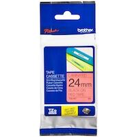 Banda Continua Laminata Etichete Brother TZE451, 24mm x 8m
