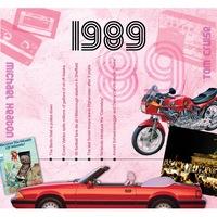 CD картичка с хитове от 1989 година