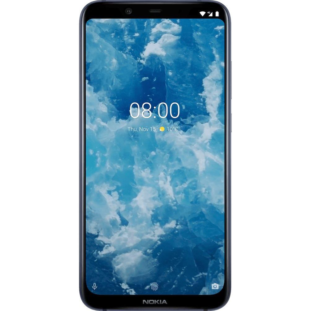 Fotografie Telefon mobil Nokia 8.1, Dual SIM, 64GB, 4G, Blue