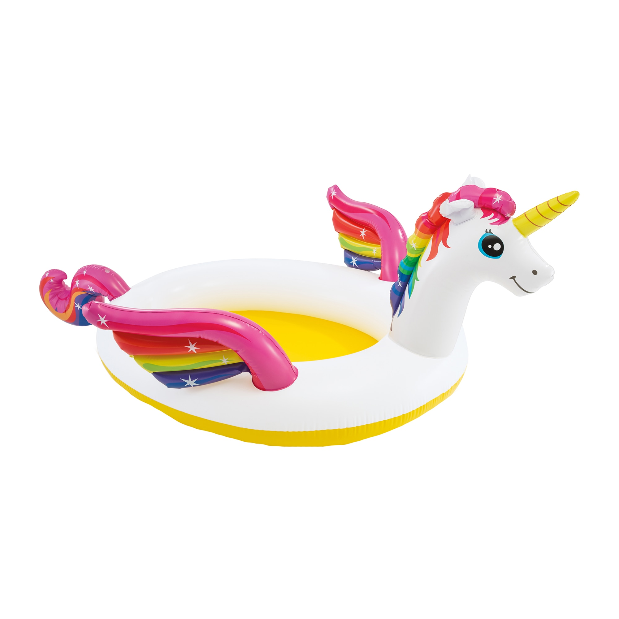 Fotografie Piscina gonflabila Intex - Mystic Unicorn Spray, 272 x 193 x 104 cm