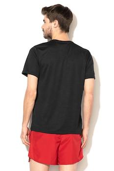 Nike, Superset Dri Fit edzőpóló, Fekete