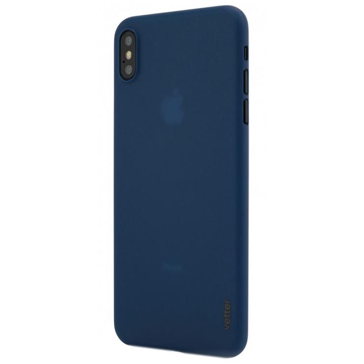 Fotografie Husa de protectie Vetter Clip-On, Ultra Thin Air Series pentru iPhone XS Max, Blue