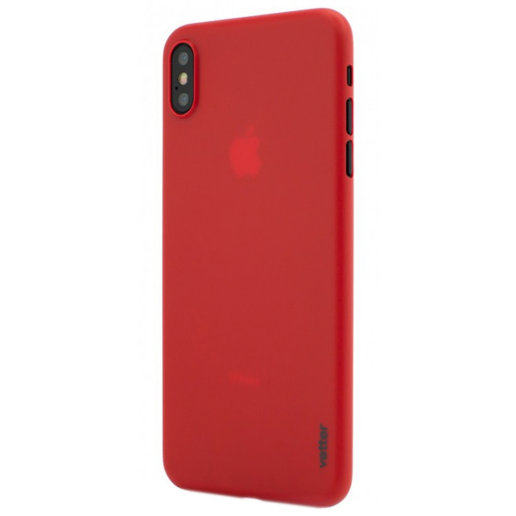 Fotografie Husa de protectie Vetter Clip-On, Ultra Thin Air Series pentru iPhone XS Max, Red