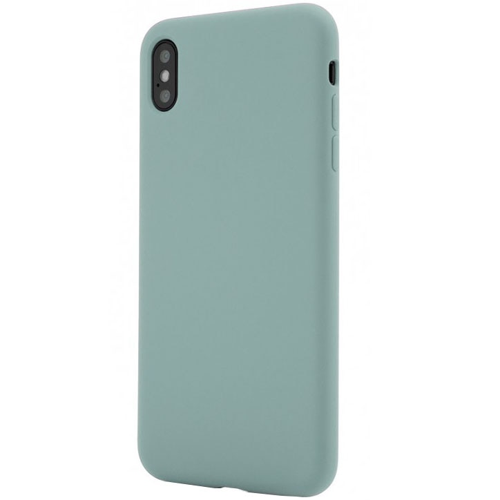 Fotografie Husa de protectie Vetter Clip-On Soft Touch Silk Series pentru iPhone XS Max, Green
