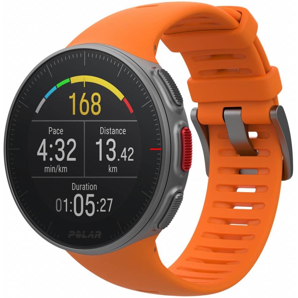 Fotografie Ceas smartwatch Polar Vantage V, GPS, Senzor H10 HR, Orange