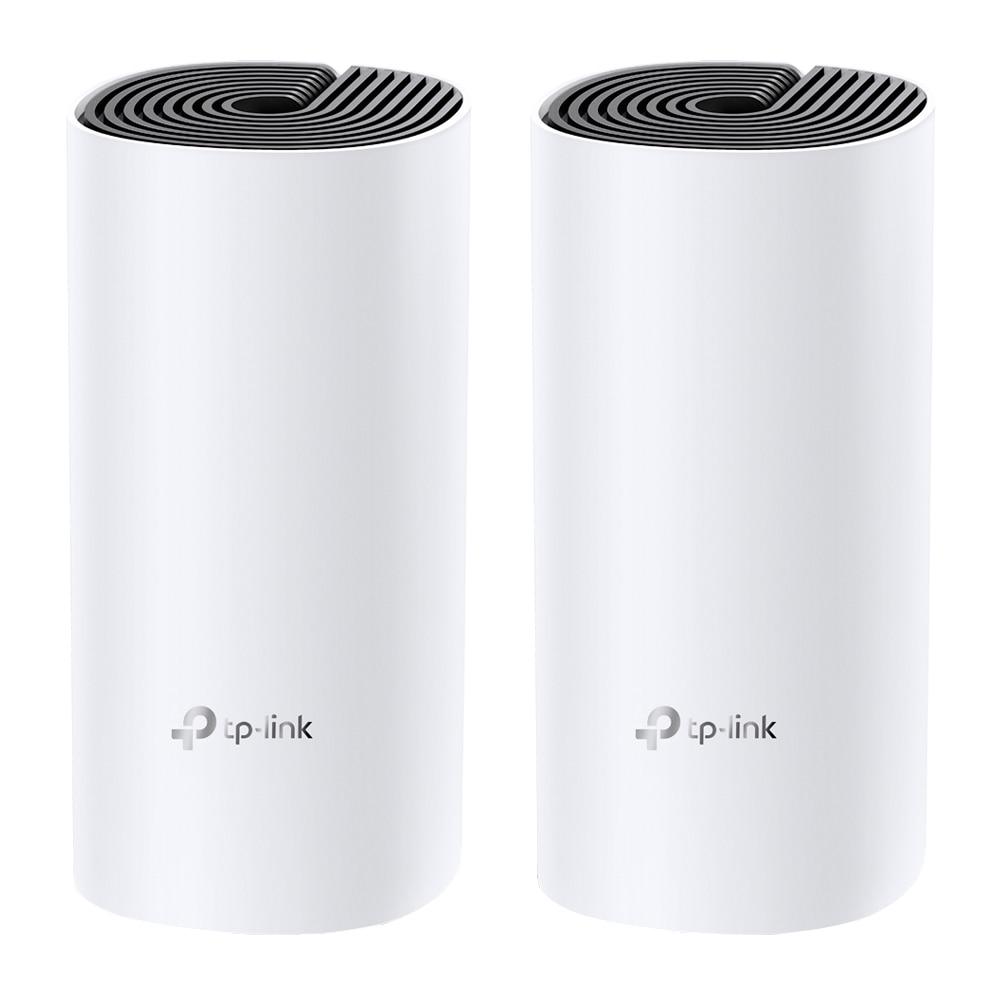 Fotografie Sistem Wi-Fi Mesh TP-Link Deco M4 (2-pack) AC1200 Gigabit cu acoperire completa pentru casa