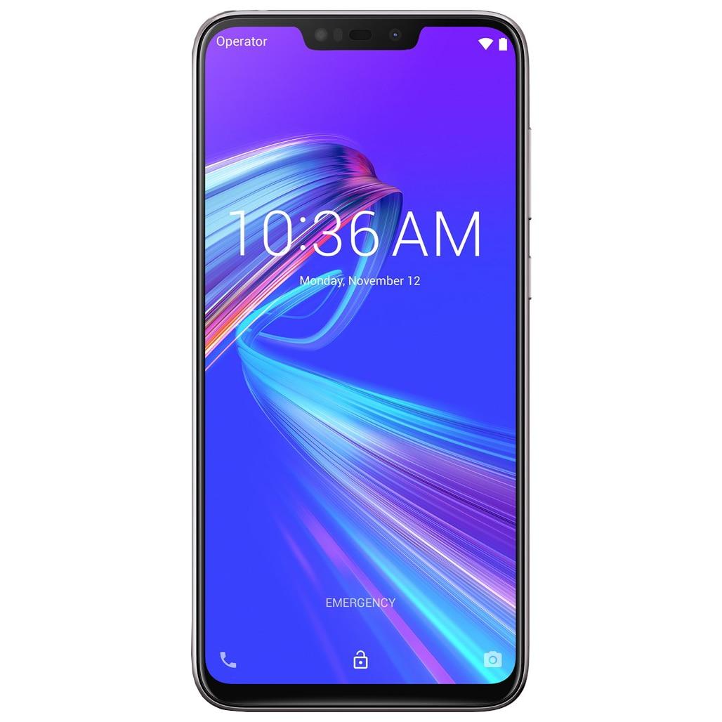 Fotografie Telefon mobil Asus ZenFone Max M2 ZB633KL, Dual SIM, 32GB, 4G, Meteor silver