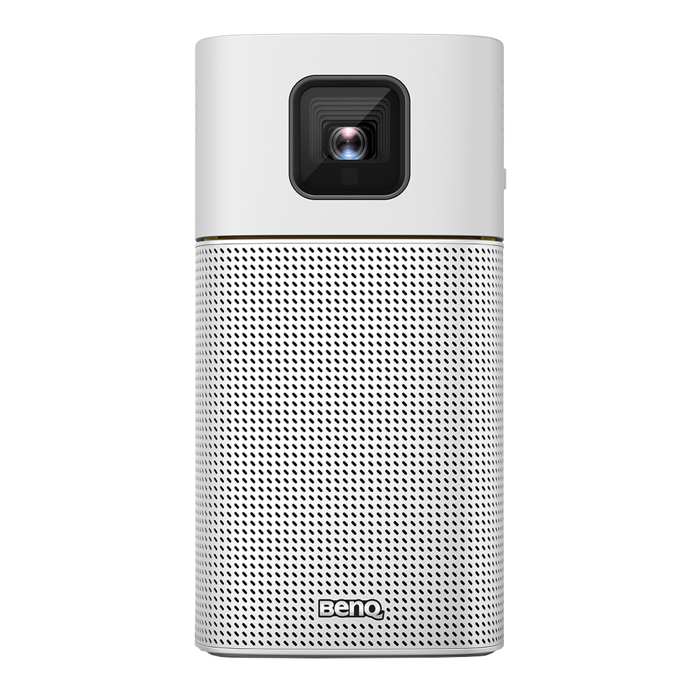 Fotografie Videoproiector BenQ GV1, LED, Bluethooth Speakers, FWVGA 200 lumeni, WiFi, 100.000:1, 30.000ore, 5W, USB-C, inclusiv baterie