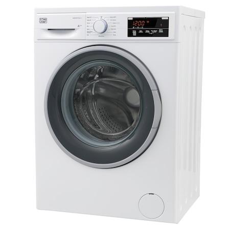 Masina de spalat rufe Star-Light WMV-N712A++, 7 kg, 1200 RPM, Display LED, Clasa A++, Alb