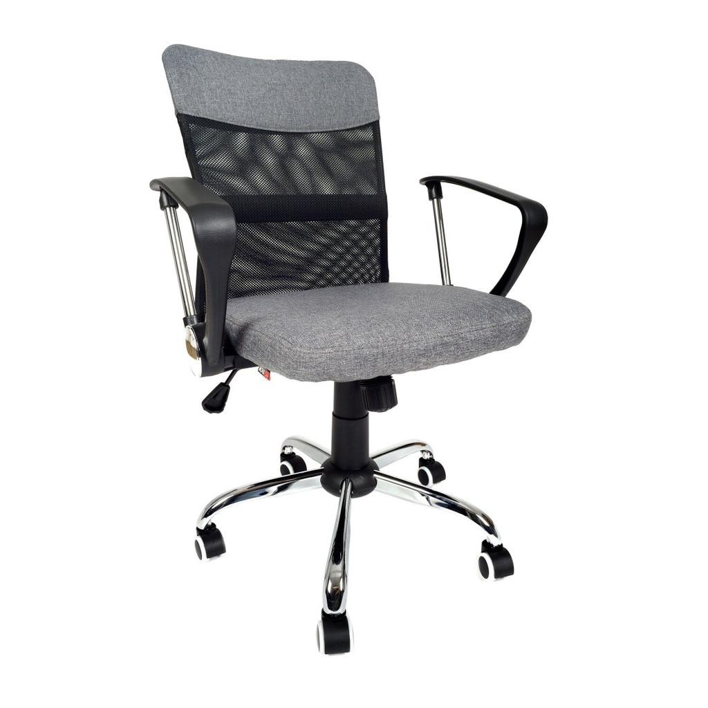 Krzesło Fotel Biurowy Obrotowy Szary kup online   eMAG.pl