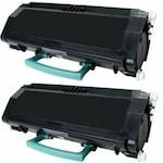 Комплект съвместими SLOT тонер касети LEXMARK E260 X 2бр. за Lexmark E260, E260D, E260DN, E360D, E360DN, E460DN, E460DW, E462DTN