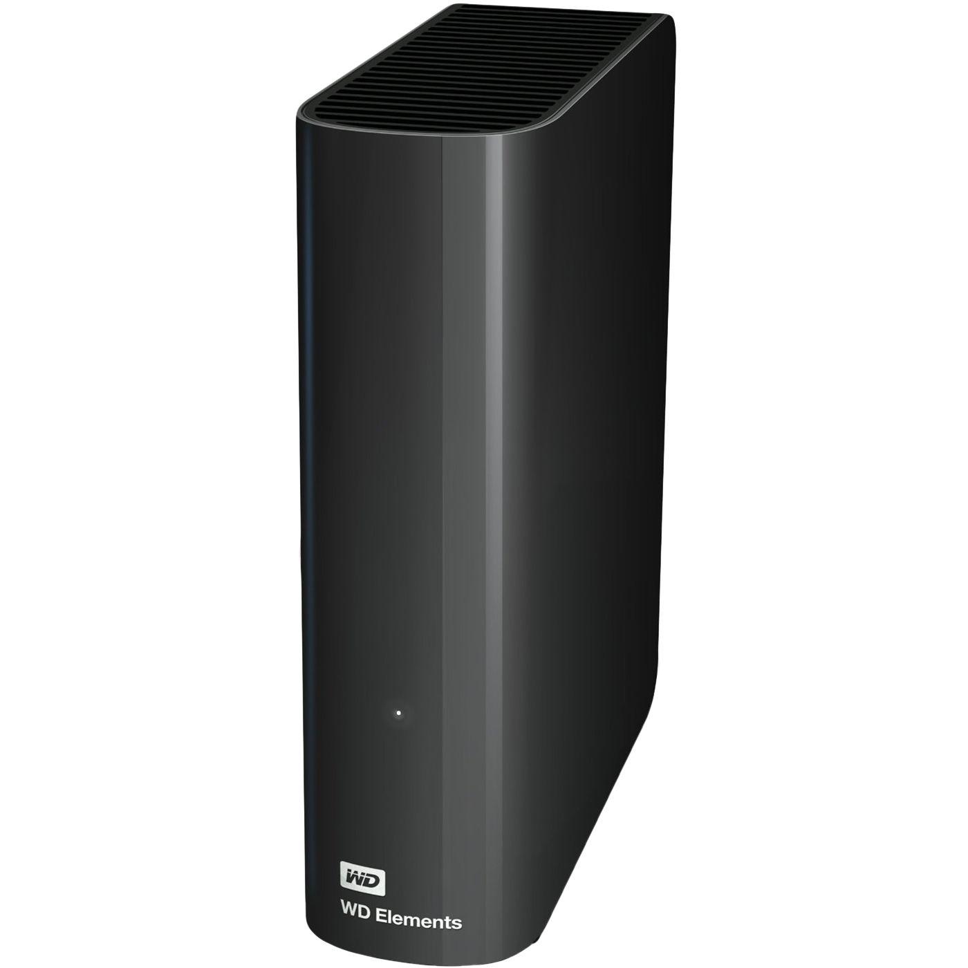 """Fotografie HDD Extern WD Elements Desktop 10TB, 3.5"""", USB 3.0, Negru"""