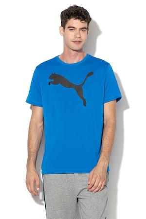 Puma, Тениска Active със стандартна кройка и лого, Син