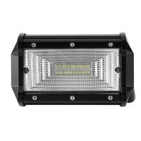 72W LED Бар Flexzon Диоден Фар Прожектор Халоген 12-24V Flood Light Разпръсната Светлина